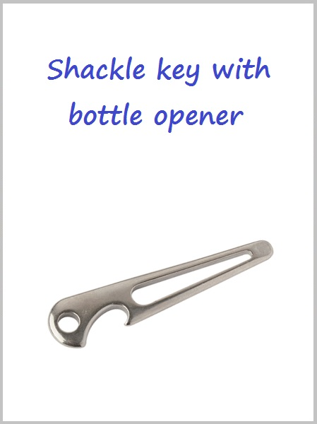 Shackle key/ bottle opener